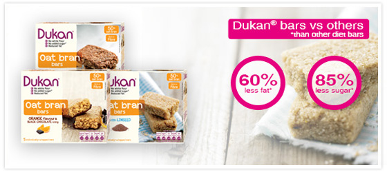 Dukan diet protein bars